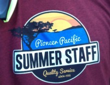 Pioneer Pacific Summer Staff Shirts 2013