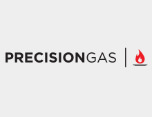 Precision Gas: Branding, Website, Business Cards, Stickers & Decals